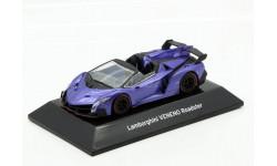 Lamborghini Veneno 2016 Roadster Violet F-Toys 1/64, масштабная модель, scale64