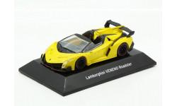 Lamborghini Veneno 2016 Roadster Yello F-Toys 1/64, масштабная модель, scale64