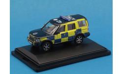Land Rover Discovery 3 2005 Police 1/76 Oxford, масштабная модель, 1:72, 1/72