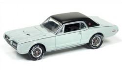 Mercury Cougar XR7-G 1968 1/64 Johnny Lightning, масштабная модель, 1:64