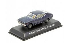 Nissan Violet HT SSS 1973 Konami 1/64 Red, масштабная модель, 1:64
