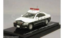 Toyota Crown 2012 Metro Police Patrol Car (Geki 55) 1/64 Rai's Kyosho
