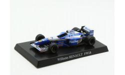 Williams Renault FW18 #5 D. Hill 1996 Aoshima 1/64, масштабная модель, scale64