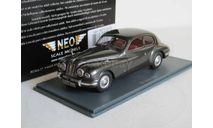 1/43 BRISTOL 401 pewter met (ex BMW) 1950. NEO 45485 Бристоль БМВ НЕО. Редкая модель, масштабная модель, Neo Scale Models, scale43