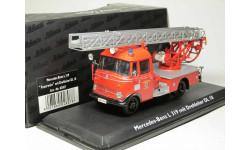 1/43 Mercedes-Benz L 319 'Feuerwehr' mit Drehleiter DL 18 art.-Nr.02807 SCHUCO, масштабная модель, 1:43