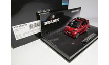 1/43 Mercedes-Benz Смарт Брабус Мерседес Smart Brabus Ultimate 120 Cabriolet Red MINICHAMPS 437 032730, масштабная модель, scale43