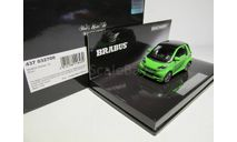 1/43 Mercedes-Benz Смарт Брабус Мерседес Smart Brabus Ultimate 120 Green MINICHAMPS 437 032700, масштабная модель, scale43