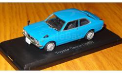 Toyota Carina ( 1970) Японская журналка №64, 1:43, металл, масштабная модель, 1/43, Norev