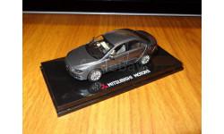Mitsubishi Galant Fortis, RHD, Gray, Vitesse, 1:43, Металл, Диллерский, масштабная модель, scale43