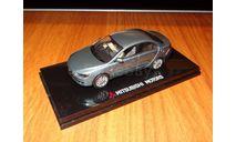 Mitsubishi Galant Fortis, RHD, Blue, Vitesse, 1:43, Металл, Диллерский, масштабная модель, scale43