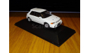 Mazda Familia GT-R 1992 E-BG8Z, White, SAPI, 1:43, металл, масштабная модель, 1/43
