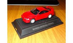 Honda Integra Type R, Red, Ebbro, 1:43, Металл, масштабная модель, scale43