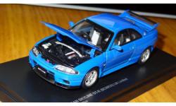 Nissan Skyline GT-R (BCNR33), LM Limited, Champion blue, Kyosho, 1:43, металл, масштабная модель, 1/43