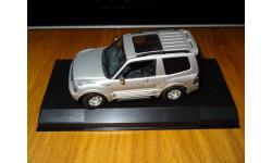Mitsubishi Pajero 1999, AutoArt, металл, 1:43, масштабная модель, 1/43
