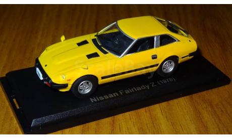 Nissan Fairlady 280Z 2by2 (1978), Японская журналка №76, 1:43, металл, масштабная модель, 1/43, Hachette