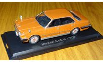 Nissan Cedric 430 1979 Японская журналка №145, 1:43, металл, масштабная модель, 1/43, Hachette