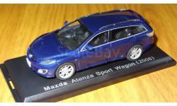 Mazda Atenza Wagon (2008) Японская журналка №145, масштабная модель, 1:43, 1/43, Hachette
