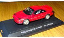 Toyota MR 2 1989 Ebbro, масштабная модель, 1:43, 1/43