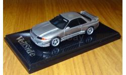 Nissan Skyline GT-R (BNR32) VeilSide COMBAT, 1:43, coldcast, масштабная модель, 1/43, Aoshima