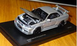 Nissan Skyline GT-R R34 Nismo Z-tune Proto, Kyosho, металл, 1:43, масштабная модель, 1/43