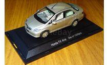 Honda Fit Aria, Ebbro, 1:43, металл, масштабная модель, 1/43