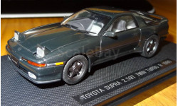 Toyota Supra 2,5GT Twin Turbo R JZA70 1990, Dark Green, Ebbro, 1:43, металл