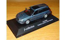 Subaru Legacy Wagon, J-Collection, 1:43, металл, масштабная модель, scale43
