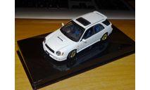 Subaru Impreza WRX Sti Wagon 2001, Autoart, 1:43, металл, масштабная модель, scale43