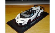 Lamborghini Veneno Roadster, Kyosho, 1:43, металл, масштабная модель, scale43