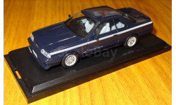Nissan Skyline GTS-X Nismo Twin Cam 24 Turbo 1987, Kyosho, 1:43, металл