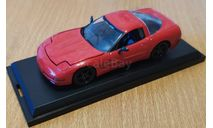 Chevrolet Corvette C5 1997, 1:43, металл, масштабная модель, scale43, Estes Industries Inc