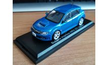 Subaru Impreza WRX Sti 2009, Norev, 1:43, металл, масштабная модель, scale43, Hachette
