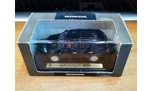 Honda MDX, Black, Ebbro, Спецзаказ, металл, 1:43, масштабная модель, scale43