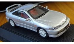Honda Integra Type R, Silver, Ebbro, 1:43, Металл, масштабная модель, 1/43