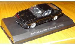 Mitsubishi Starion Turbo GSR-VR 1988 Aoshima DISM 1:43 Металл