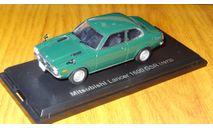 Mitsubishi Lancer 1600 GSR 1973 Японская журналка, 1:43, металл, в боксе, масштабная модель, scale43, Hachette