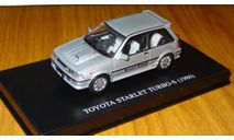 Toyota Starlet Turbo S (1986) DISM Aoshima DISM 1:43 Металл, масштабная модель, 1/43