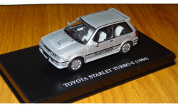 Toyota Starlet Turbo S (1986) DISM Aoshima DISM 1:43 Металл