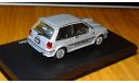 Toyota Starlet Turbo S (1986) DISM Aoshima DISM 1:43 Металл, масштабная модель, 1/43