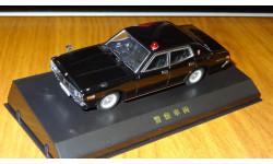 Nissan Cedric (330) Unmarked Police car Aoshima DISM 1:43 Металл