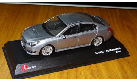 Subaru Legacy B4 2009 Silver Kyosho, масштабная модель, 1:43, 1/43, J-Collection