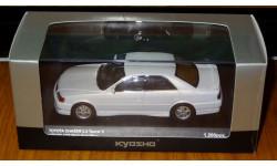 Toyota Chaser Tourer V (JZX100) White Perl Kyosho, масштабная модель, 1:43, 1/43