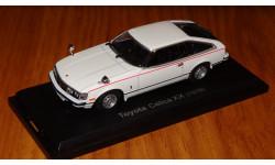 Toyota Celica XX 1978 Японская журналка, масштабная модель, 1:43, 1/43, Hachette