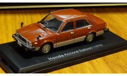 Honda Accord 1978 Японская журналка, масштабная модель, 1:43, 1/43, Hachette