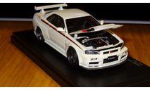 Nissan Skyline GT-R Nismo S-tune R34 Kyosho, масштабная модель, scale43