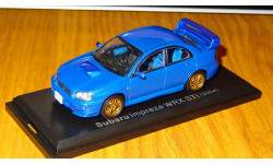 Subaru Impreza WRX STI (2004), Японская журналка №97, 1:43, металл