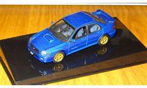 Subaru Impreza WRX Sti 2001 Autoart, масштабная модель, scale43