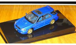 Subaru Impreza WRX Sti Wagon 2001 Autoart, масштабная модель, 1:43, 1/43
