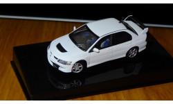 Mitsubishi Lancer Evolution VIII AutoArt, 1:43 Металл, масштабная модель, 1/43