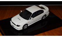 Subaru Legacy B4 1999 Autoart, масштабная модель, 1:43, 1/43